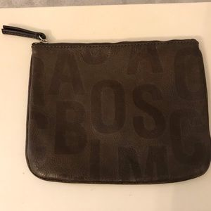 Marc by Marc Jacobs Brown Leather Pouch
